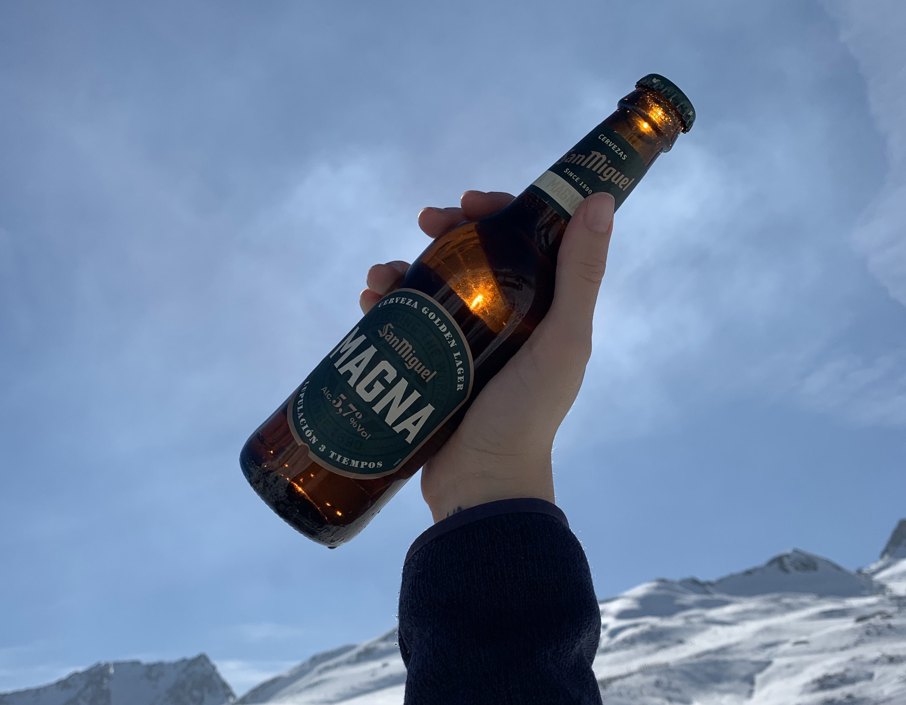 San Miguel Snow Beer