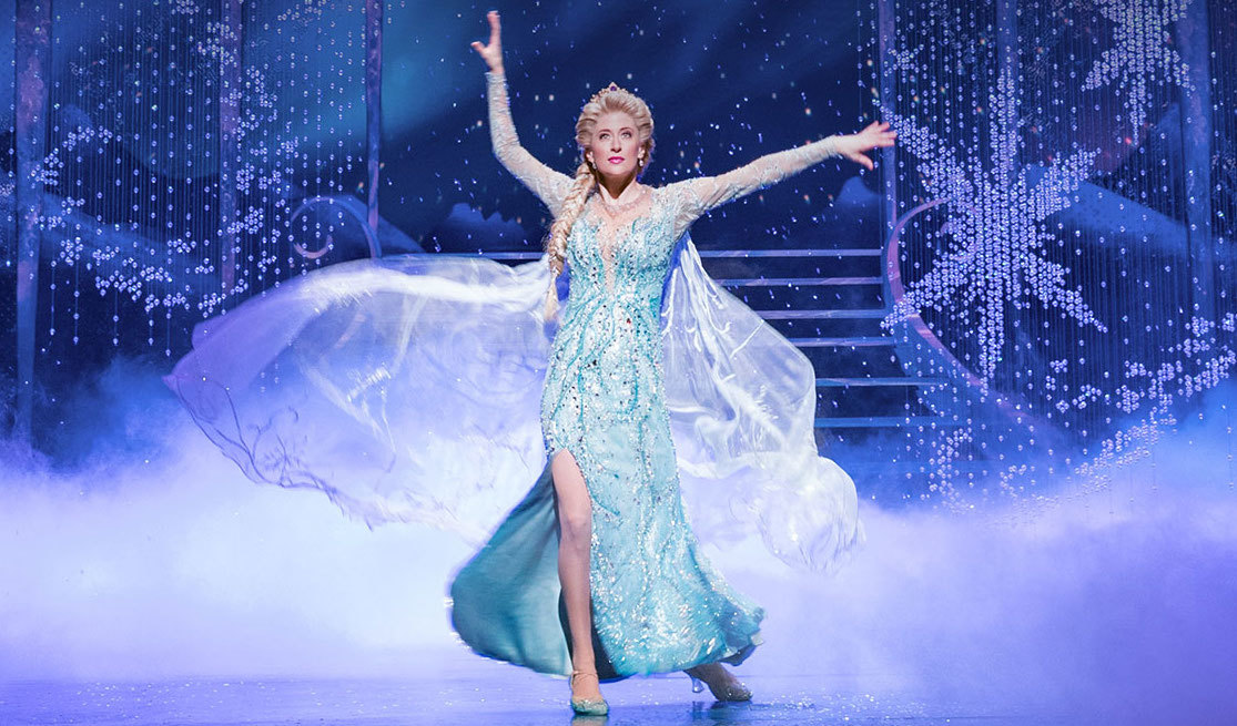 FROZEN on Broadway's Skate The Skyline