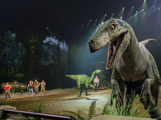Jurassic World Live Tour hits NYC
