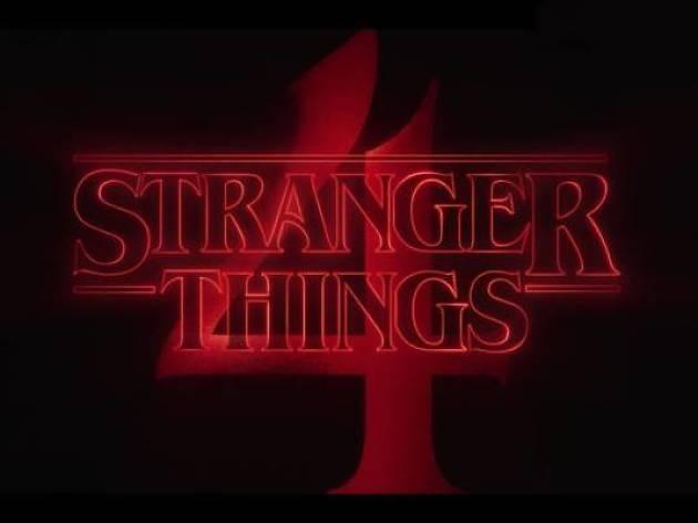Portada del avance de la 4ª temporada de 'Stranger Things'