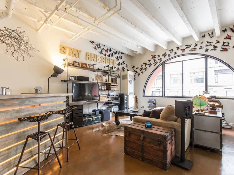 Awesome artist's loft, Los Angeles