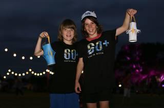 Earth Hour (Photograph: Supplied courtesy Randwick City Council / WWF-Aus)