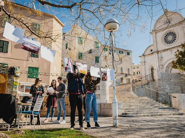 Free art displayed across Croatia today for 'Art in the Street' day
