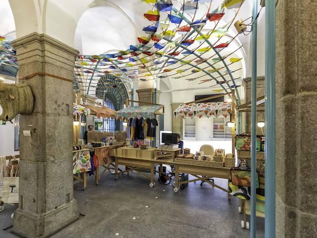 Tienda de artesanías de la Casa de la Panadería