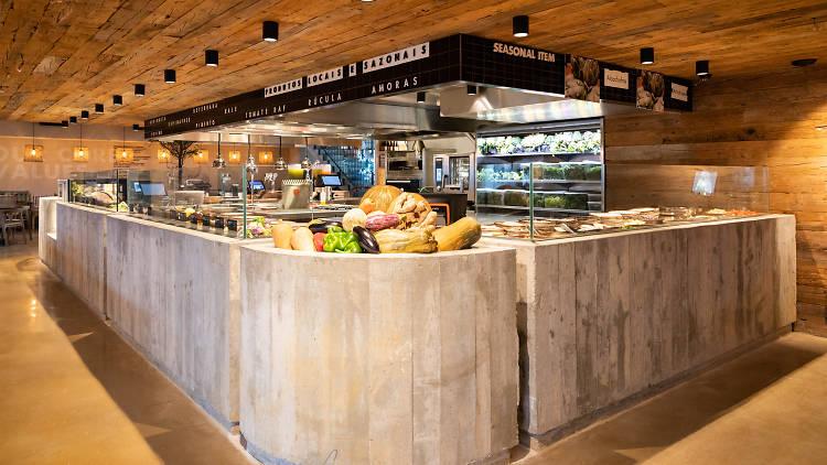 Honest Greens, Restaurante
