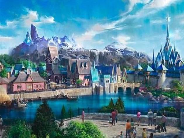 Voilà à quoi ressemblera le futur univers «La Reine des neiges» de Disneyland