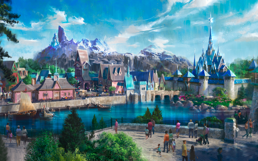 Disneyland Paris is getting a whole new 'Frozen' kingdom – here's what it will look like