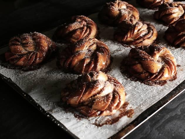 Mork Chocolate is giving away 100 cinnamon buns