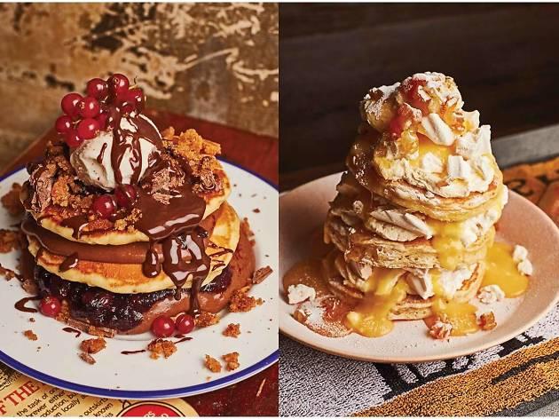 Breakfast Club Pancake Challenge