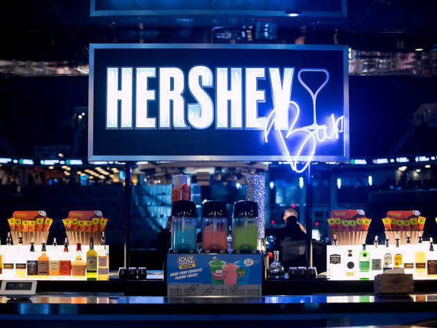 First-ever Hershey Bar opens at Barclays Center with candy-inspired cocktails