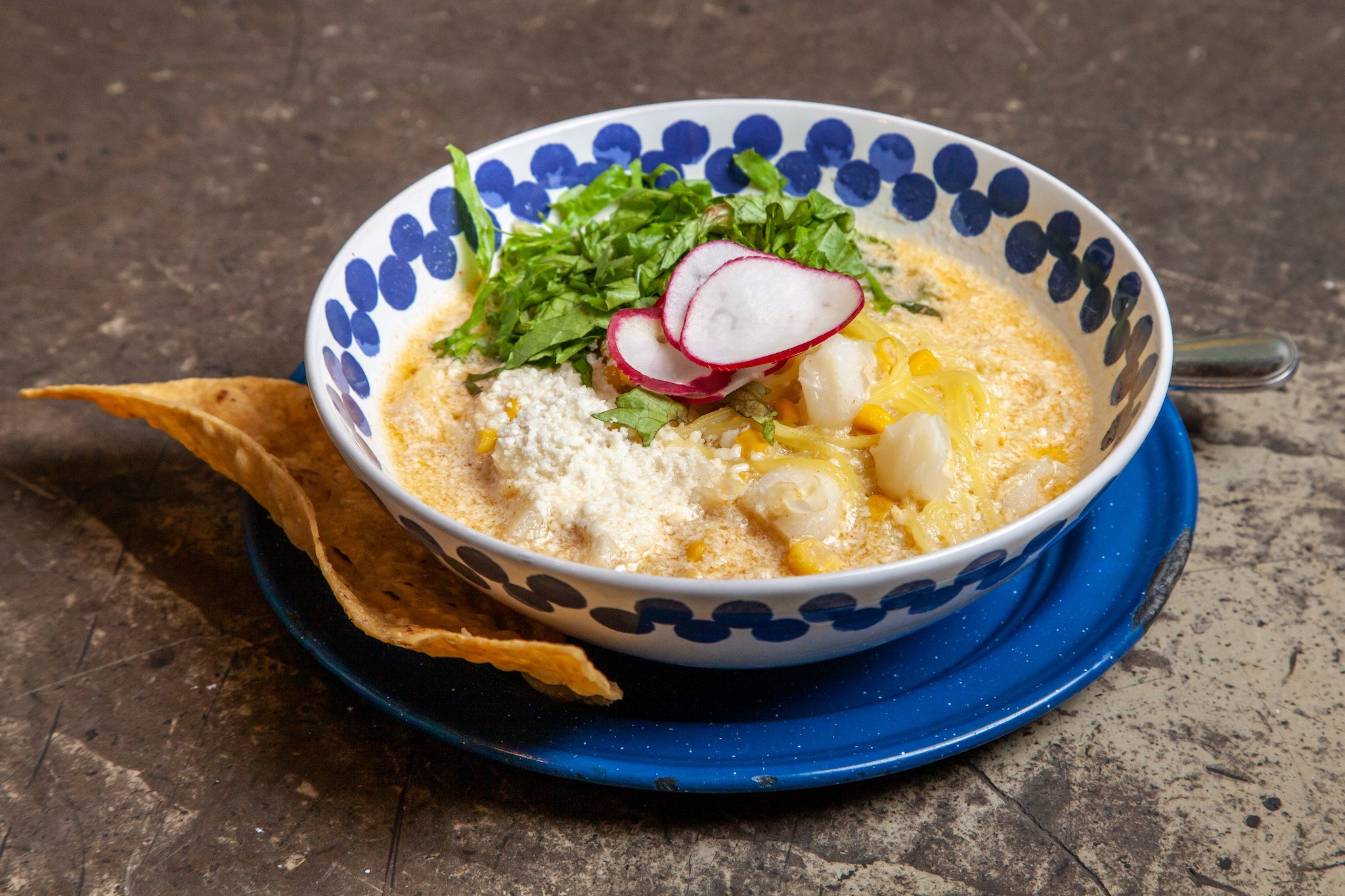 There's a pozole pop-up inside Mexican dessert shop La Newyorkina