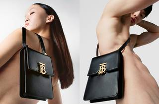 Thai model Jan Baiboon graces Burberry's new ad campaign