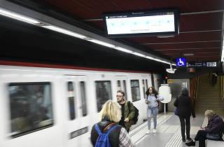 Nivel de ocupación del metro