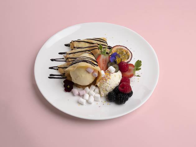 Make Your Own Pancake at Hoi Polloi