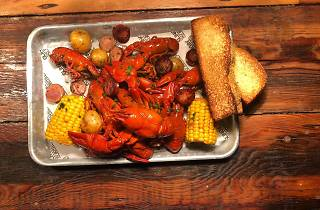 Bayou Bar Mardi Gras Crawfish Boil