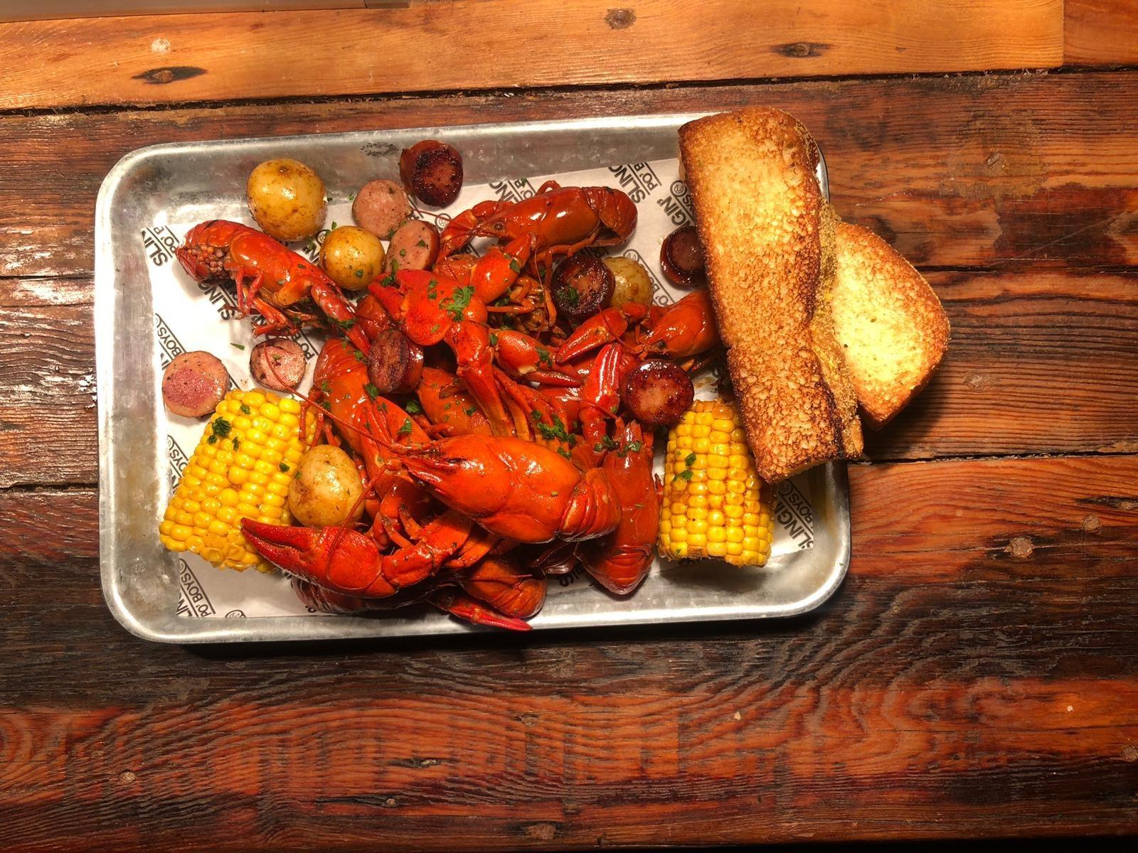 Bayou Bar Mardi Gras Crawfish Boil
