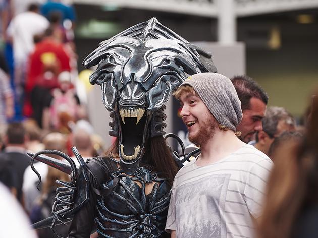 London Comic Con Spring