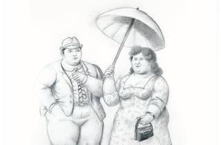Le Couple, de Fernando Botero