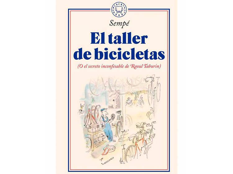 'El taller de bicicletas', de Sempé