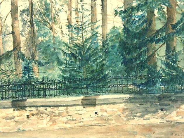 Anka Krizmanić: 'Fire Squad Street in Zagreb' (1908)