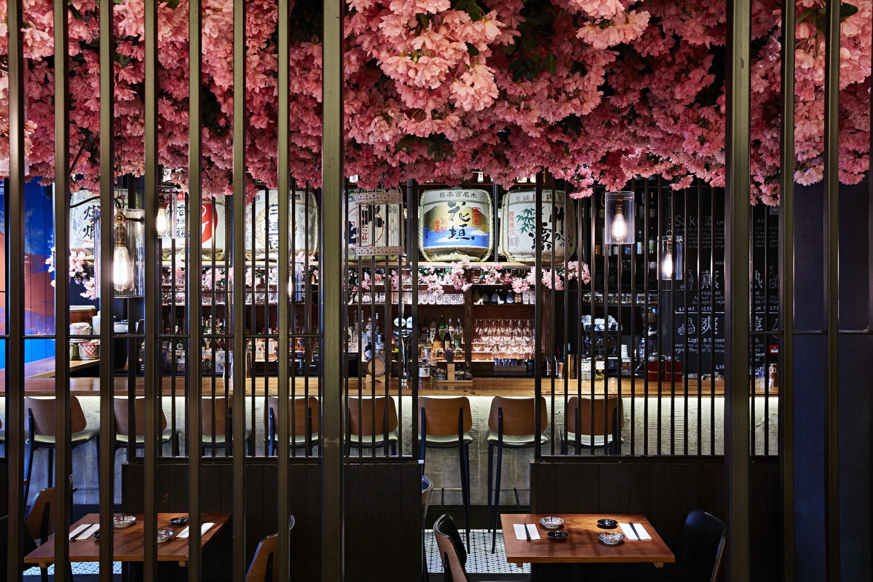 The Cherry Blossom installation is back in Sakagura for 2020