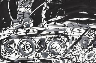 Arte: Antonio Saura. Mentira y sueño de Franco
