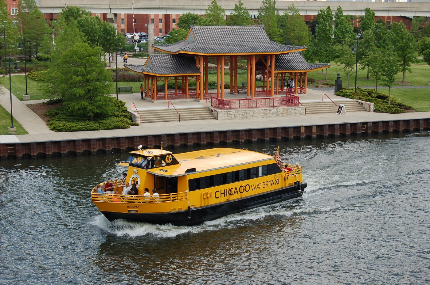 Hop on a Chicago Water Taxi
