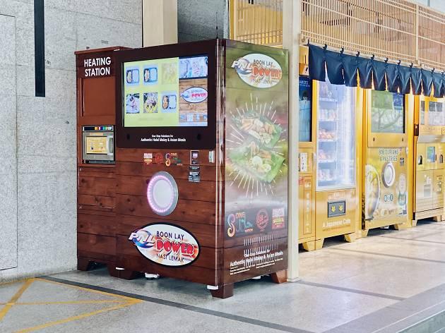 Boon Lay Power Nasi Lemak Vending Machine