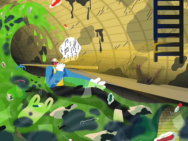 The sewerman grisly job