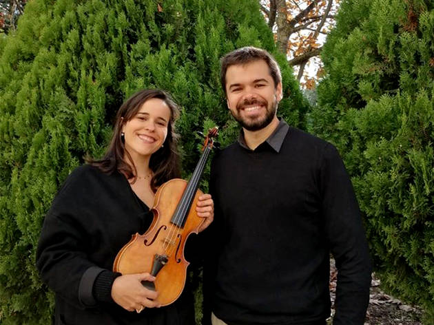 Catarina Afonso e Pedro Ramos