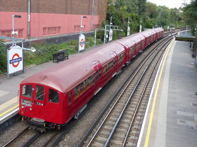 Take a ride on the Piccadilly line in a restored 1938 art deco tube train