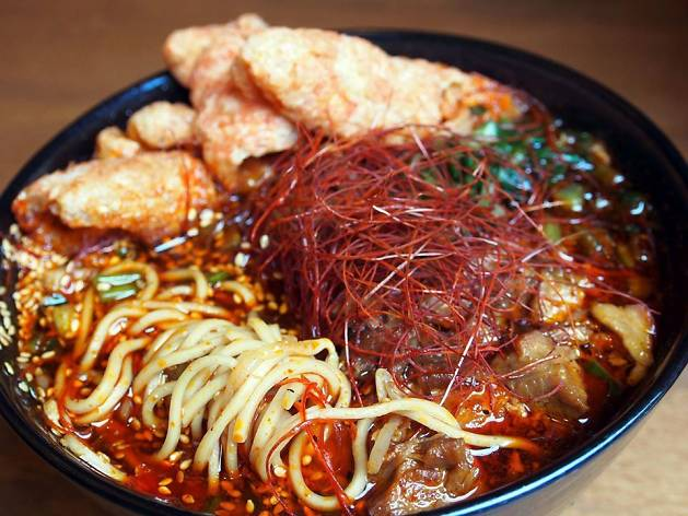 """NYC's Strings Ramen offers insanely spicy """"Monster Hell"""" challenge"""