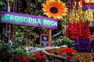 Crocodile Rock Sign