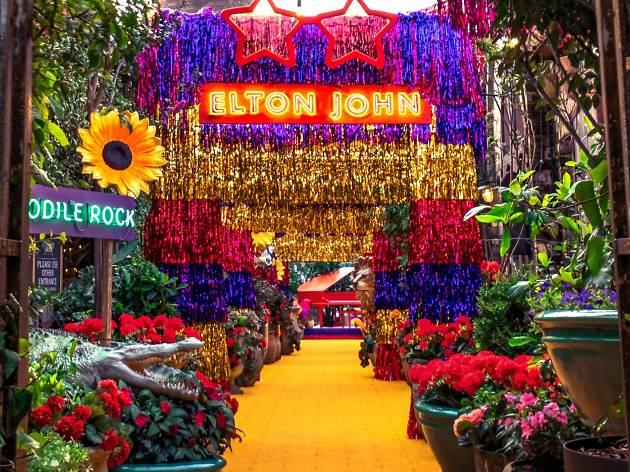 Yellow Brick Road Entrance