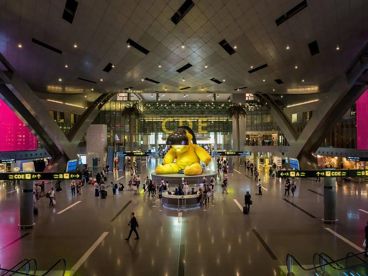 Boggle at epic artworks in Doha