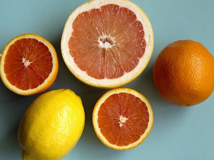 Citrus scents like lemon and orange