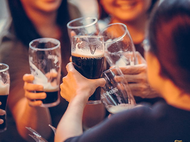 Get free beer and have a jolly time with Guinness this St Patrick's Day