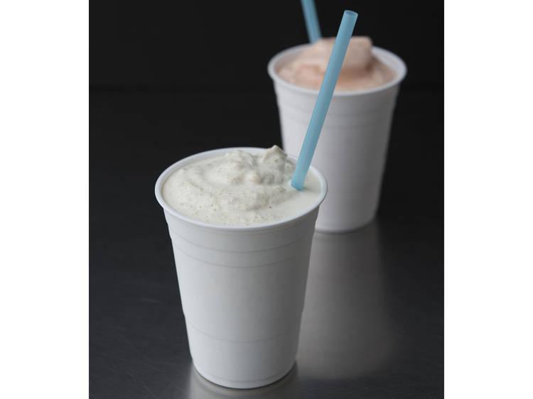 Thick Milkshake at il Laboratorio del Gelato
