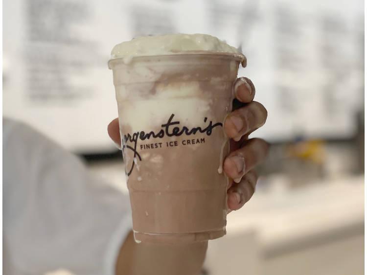 Black and White Milkshake at Morgenstern's Finest