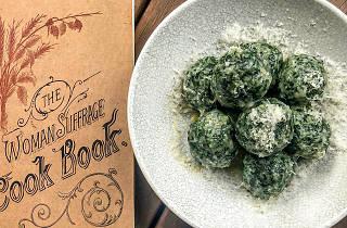 Gnocchi and a Suffragette cookbook