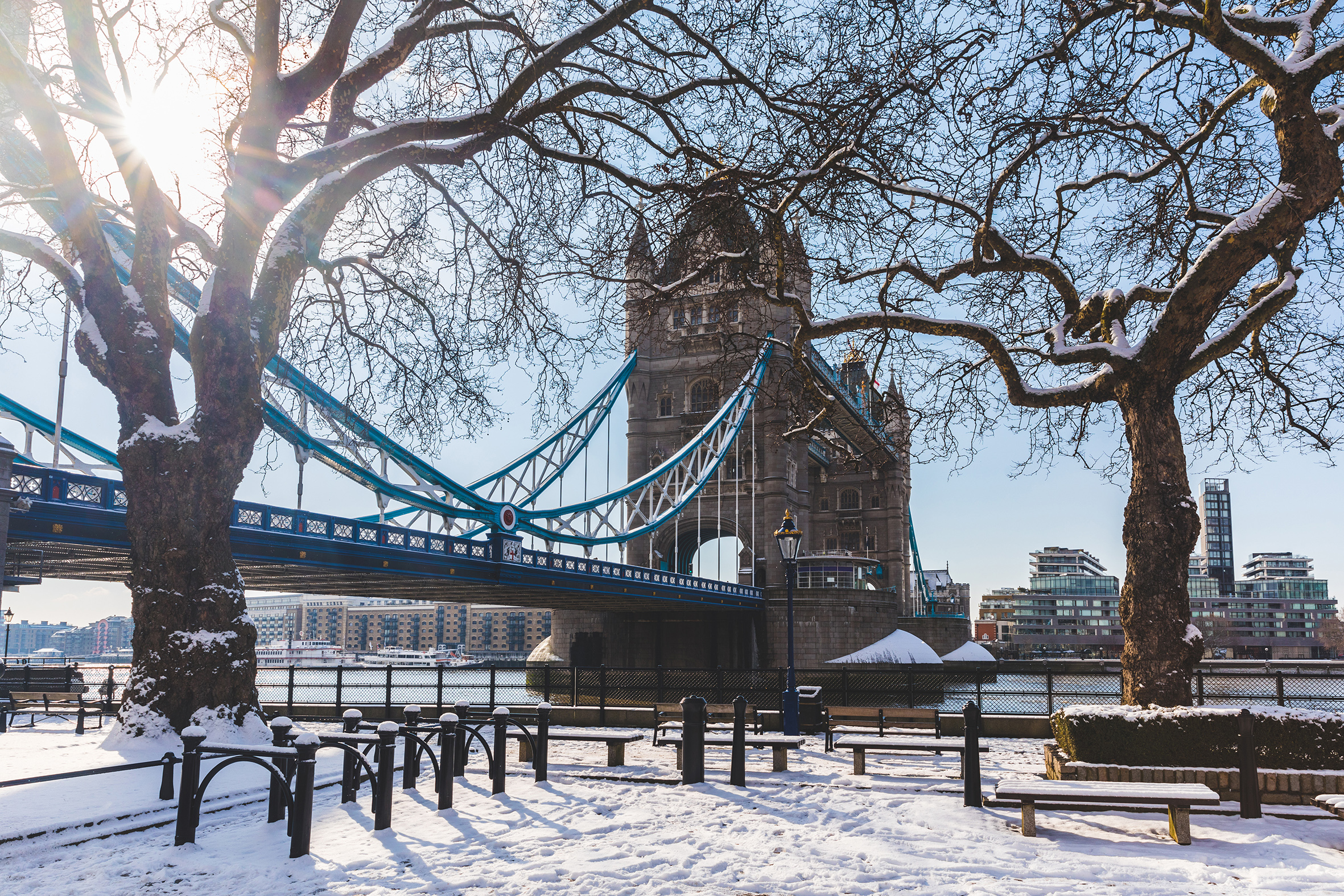 London could be getting a sprinkling of snow tomorrow