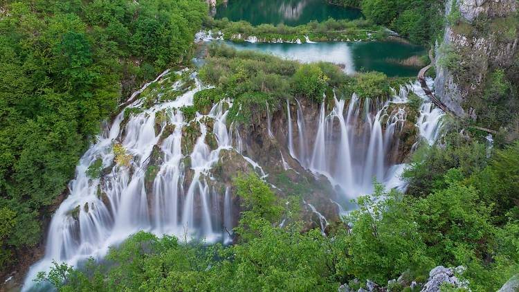 Picture-perfect Plitvice Lakes National Park