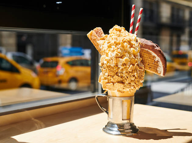 Delicious NYC milkshakes