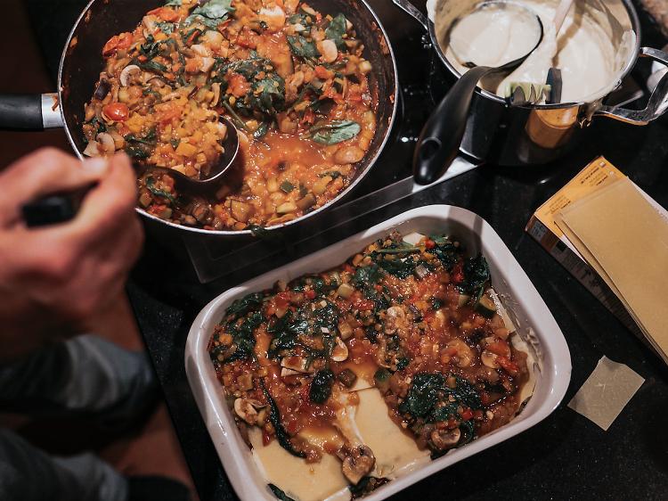 A cozinha vegetariana