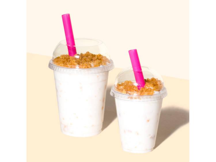 Crunchy Cereal Shake at Milk Bar