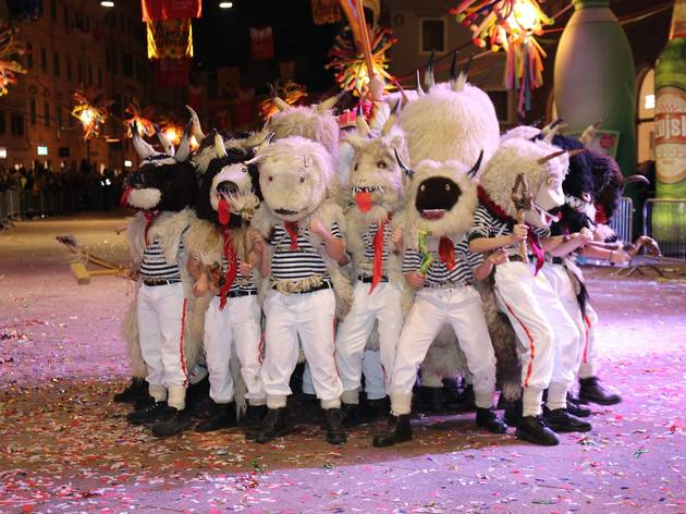 PHOTOS: Limited 2021 edition of legendary Croatian carnival held in Rijeka