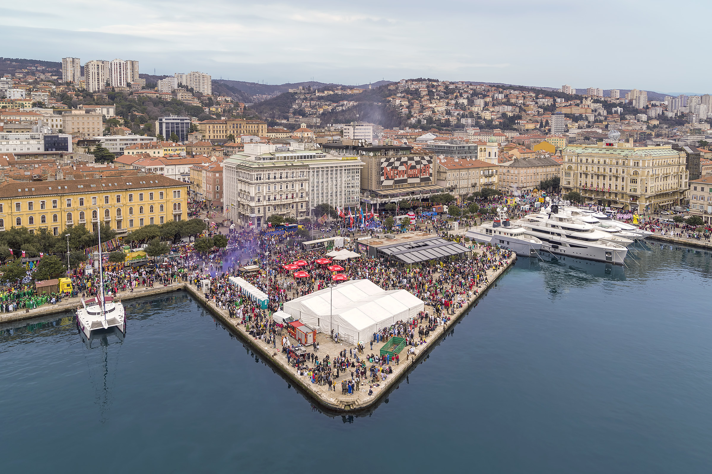 In pictures: that's a wrap on Rijeka Carnival 2020