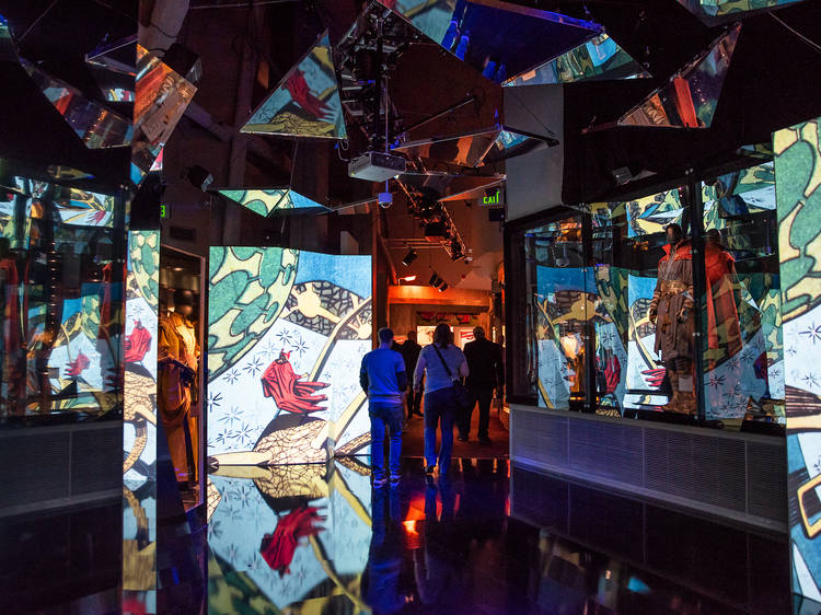 Visit the Marvel exhibit at the Museum of Science and Industry