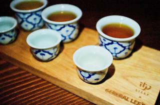 General Lee's bar Chinatown mezcal STEEP LA tea