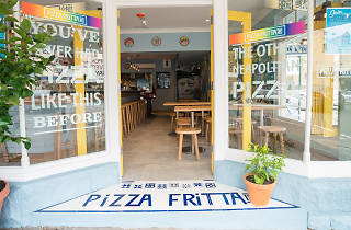 The frontage at Pizza Fritta